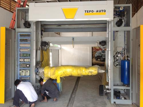 car wash tunnel equipment & security & energy saving