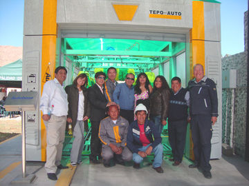 ประเทศจีน TEPO - AUTO - TP -901 Express Car Wash Tunnel , car washing equipments ผู้ผลิต