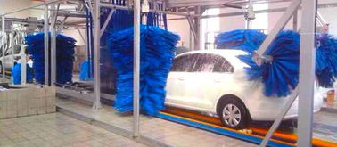 ประเทศจีน AUTOBASE - AB -120 Car Wash Tunnel Equipment , Vehicle Washing Systems with germany brush ผู้ผลิต