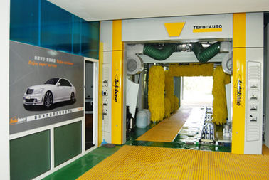 ประเทศจีน Automatic Car Wash Equipment For Saloon Car / Jeep / Mini Microbus / Taxi And Box Type Vehicle Under 2.1m ผู้ผลิต