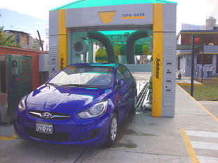 ประเทศจีน Electric Reliable Car Washing Machine , High Speed Tunnel Car Washer ผู้ผลิต