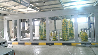 ประเทศจีน Hot Galvanized Steel Tunnel Car Wash System Profession For Washing Vehicles ผู้ผลิต