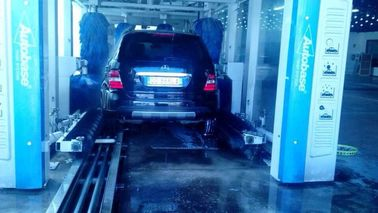 ประเทศจีน Blue Tunnel-type Car Washing Equipment Brushless With High Efficiency ผู้ผลิต