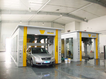 ประเทศจีน Tunnel-type Automatic Car Washing Machine For Washing 600 - 800 Cars Per Day ผู้ผลิต
