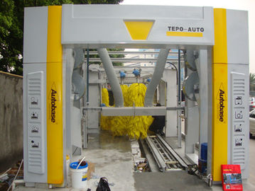 ประเทศจีน Brushless Tunnel Car Wash System Automatic With High Air Drying ผู้ผลิต