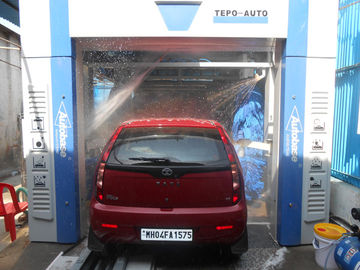 ประเทศจีน TEPO-AUTO Car Washing Machine Automatic , Wash 60 - 80 Cars Per Hour ผู้ผลิต