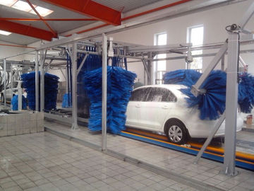 ประเทศจีน Tunnel Car Wash Systems With Three Color Wax Spraying , Innovation Mode ผู้ผลิต