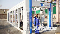 ประเทศจีน Tunnel car wash systems with import brush without hurting paint โรงงาน